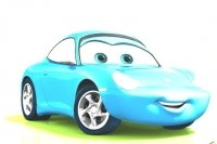 Cars 2 Colora Sally
