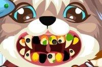 Cucciolo dal dentista