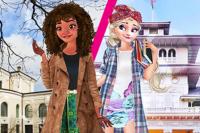 Elsa e Vaiana - Studentesse di Scambio