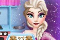Elsa Prepara il Pan di Zenzero